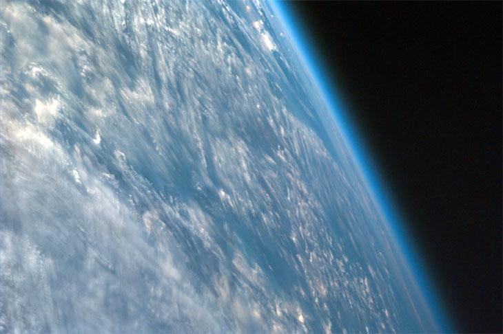 earths atmosphere in kilometers