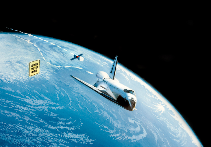 nasa space shuttle in orbit - photo #32
