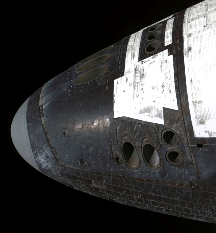 space shuttle nose - photo #12