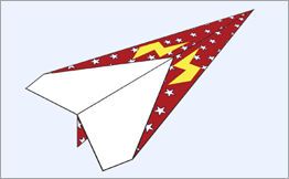 Create your own paper airplane how things fly malvernweather Choice Image