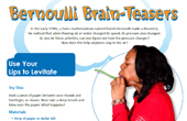 Bernoulli Brain-Teasers - Hands-On Experiment