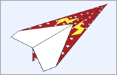 Paper Airplane activity